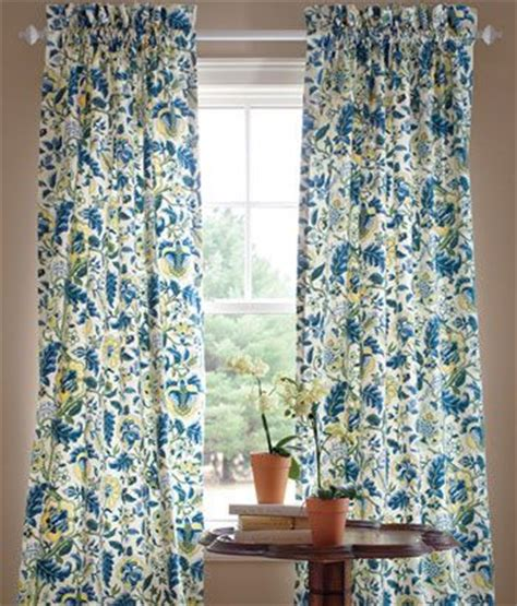 jacobean floral lined rod pocket curtains 1000 images about curtains drapes on window