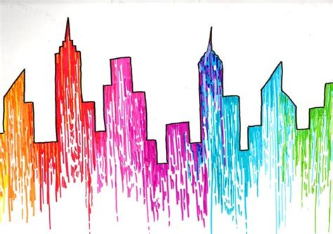 new york colors drawing new york color mes dessins