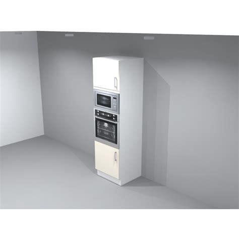 meuble de cuisine pour four colonne pour four micro onde encastrable