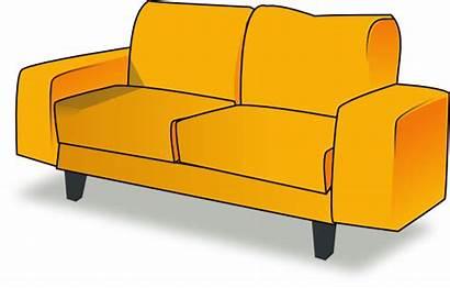 Sofa Clip Clipart Vector Clker Cliparts