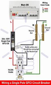 How To Wire A Gfci Circuit Breaker  1  2  3  U0026 4 Poles Gfci