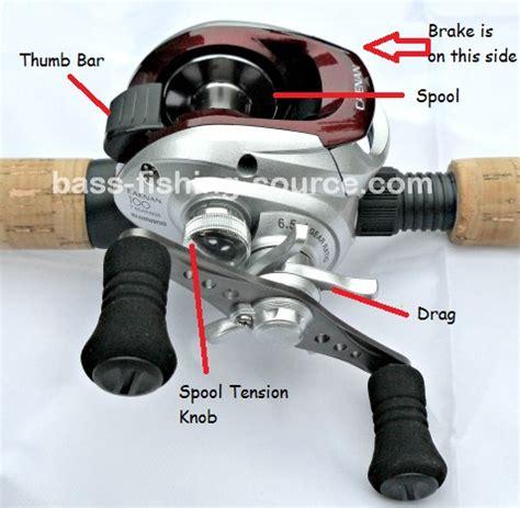 guide    setting  baitcasting reels