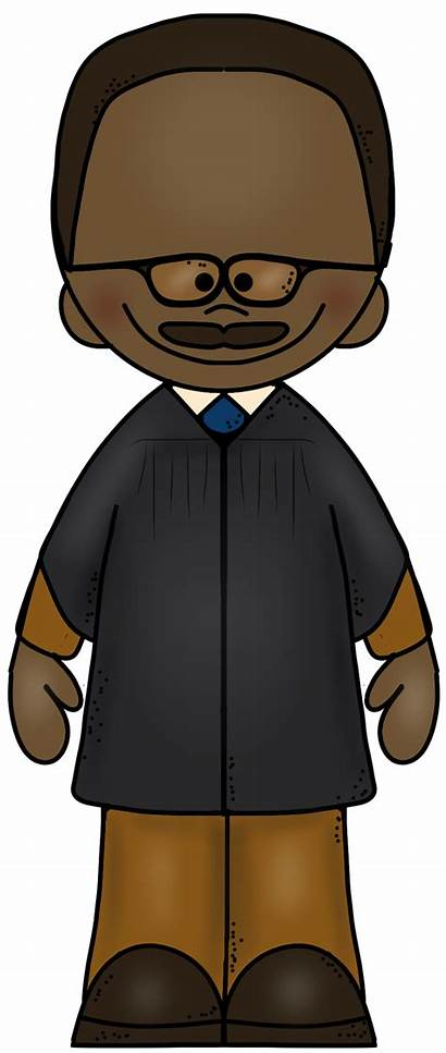 Marshall Clipart Thurgood Clipground Peace Justice