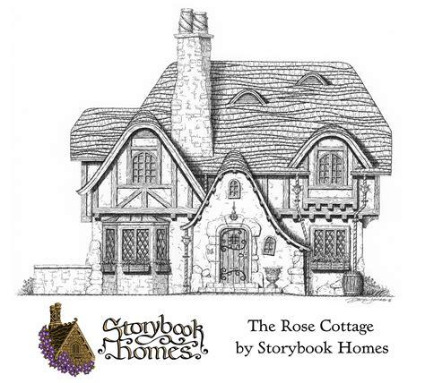 rose cottage designed  storybook homes