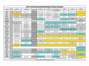 29 Images of Master Schedule Template | infovia.net