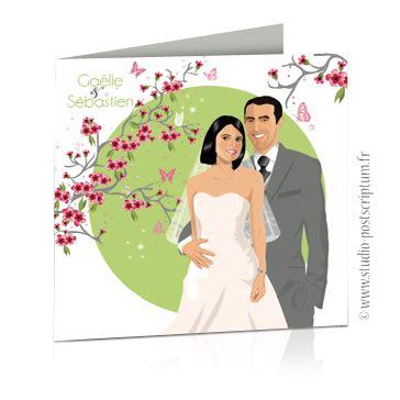 faire part mariage fleur de pommier faire part de mariage original ch 234 tre nature bucolique