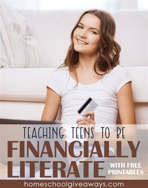 free financial literacy printables for free homeschool deals