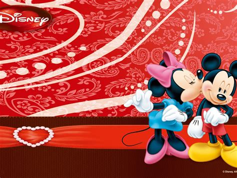 mickey minnie mouse kiss wallpaper  mobile