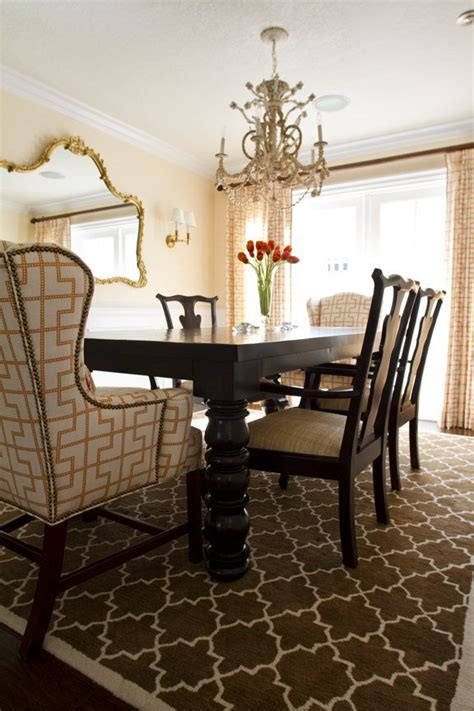 chippendale chairs   upholstered host chairs dining room design elegant