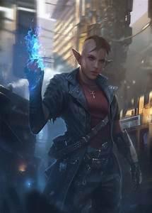 Elves, Fantasy, Art, Magic, Shadowrun, Wallpapers, Hd