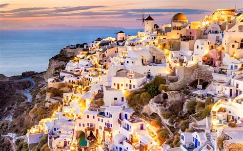 11 Stunning Photos Of Sunsets In Santorini Travel Leisure