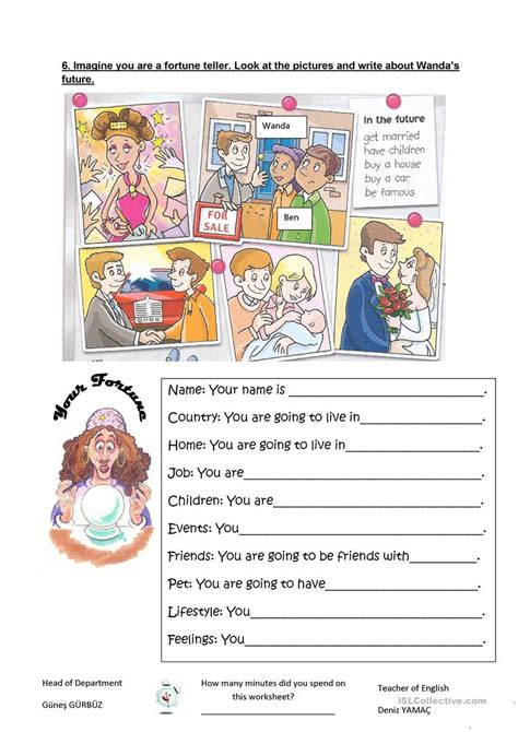 future tense    clothes  weather worksheet