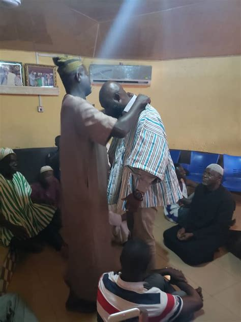 PICTURES: Yaa Naa blesses George Afriyie at Gbewaa Palace ...