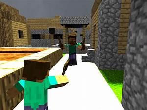 Minecraft Herobrine Vs Steve   www.imgkid.com - The Image ...