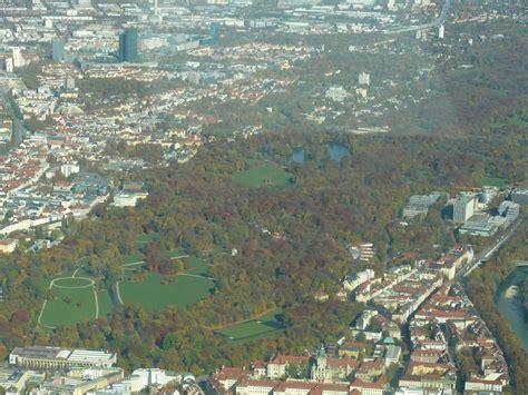 Drohne Fliegen Englischer Garten München luftbilder