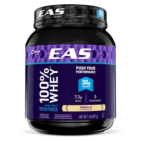 Amazon.com: EAS Whey + Casein Protein Powder, Vanilla, 2