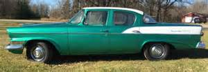 1958 Studebaker Scotsman 4 Door For Sale