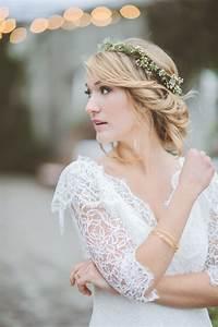 Bridal Flower Hair Crownbridal Hairstlyes