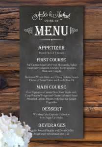 impression menu mariage un menu de mariage original idées impression menu de mariage