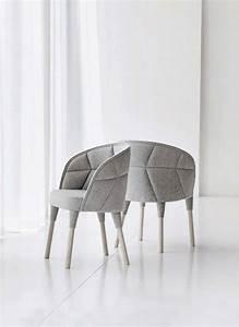 Fauteuil design gris for Fauteuil gris design