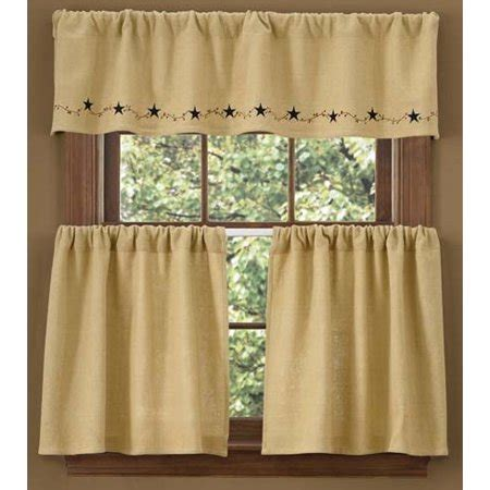 lined burlap curtains burlap lined valance walmart