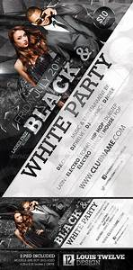 GraphicRiver Black and White Party Flyer & Facebook ...