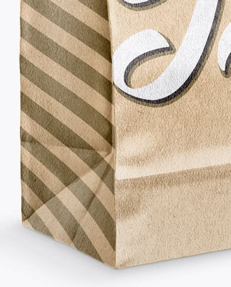 Find here free psd & vector shopping bag mockups, psd paper & fabric bags, eco bags, sets of free mockups, grocery and food bags, and many. Glossy Kraft Paper Bag Mockup - Half Side View in Bag ...