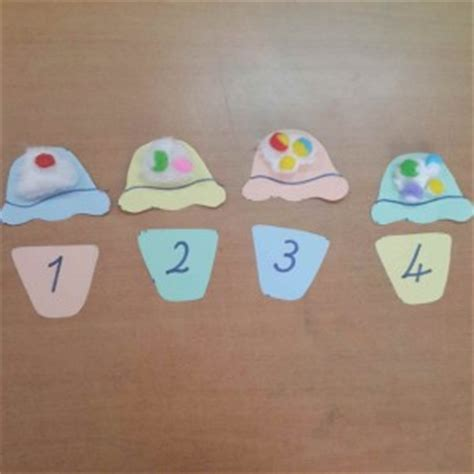 numbers craft idea for crafts and worksheets for 869   number craft idea for kids 6 300x300