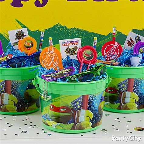 teenage mutant ninja turtles party ideas party city