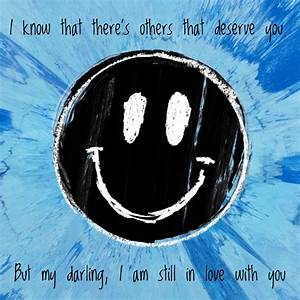 Lyrics by Ed Sheeran - Happier from his album #Divide ...