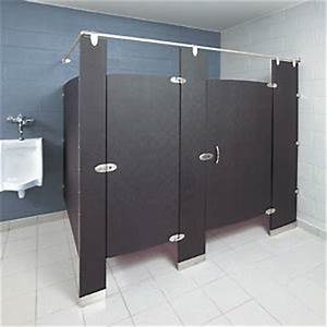 Commercial industrial bathroom partitions for sale for Bathroom stalls for sale
