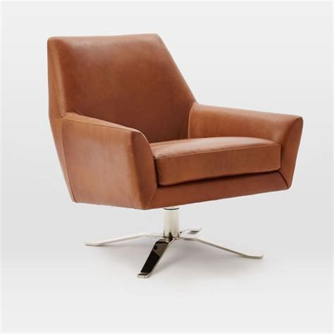 Ethan Allen Marino Swivel Chair by 25 Best Ideas About Leather Swivel Chair On
