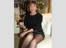 Lovely mature Oldies Pinterest Black pantyhose