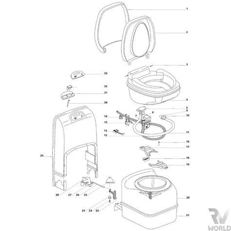 thetford c200 s cs toilet spare parts shop rv world nz