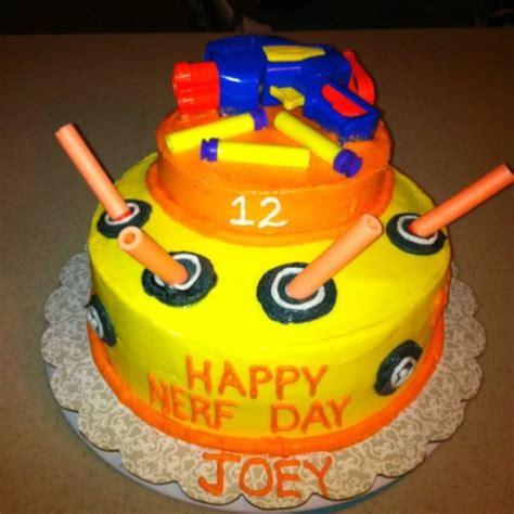 nerf birthday cake joey s nerf gun cake birthday ideas