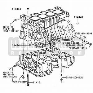 Toyota Oem 2zz Block Water Tube  U2013 Front  U2013 Not Normally