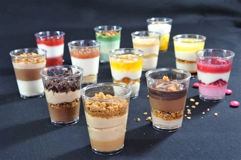 dessert recipes in a glass images