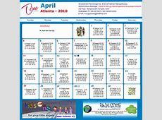 Atlanta Telugu Calendar 2012 Atlanta Telugu Calendar