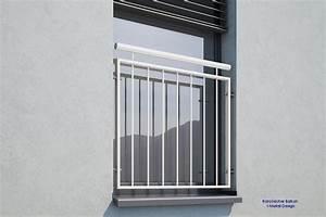 franzosischer balkon md 02ip pulverbeschichtet weiss ral With französischer balkon mit großer sonnenschirm wasserdicht