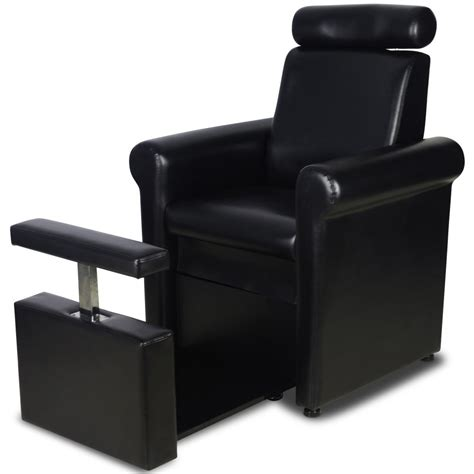 quot crest quot black pedicure foot spa station chair pedicure