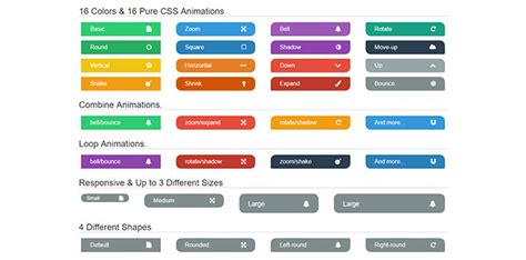 cool css buttons  web graphic design bashooka