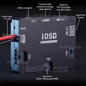 Dji Iosd Mark Ii On Screen Display Module