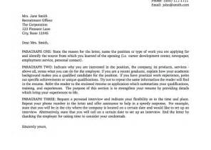 Cover Letter Definition Application Letter Writing