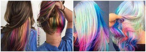 tendencias en color de cabello  estilos de corte  color