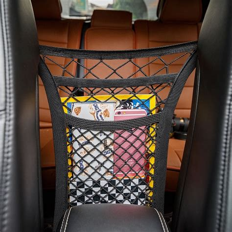 mesh high elastic mesh car trunk organizer
