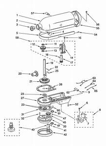 Kitchenaid Professional 600 Parts Diagram