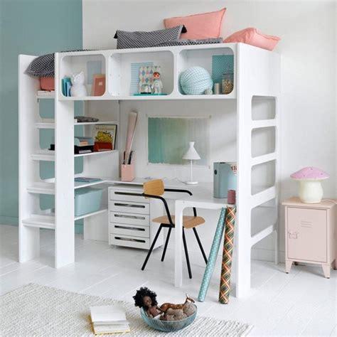 lit en hauteur avec bureau quel lit mezzanine lit hauteur enfant choisir