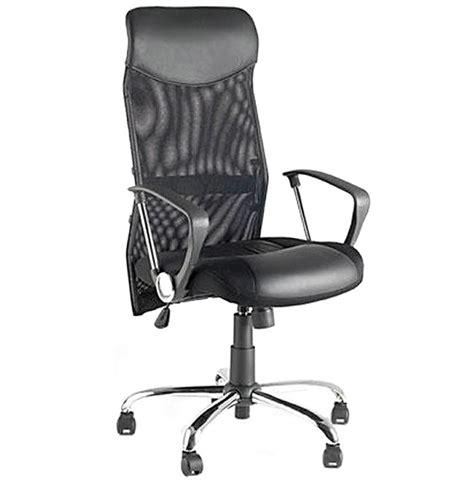 fauteuil de bureau en similicuir cambridge
