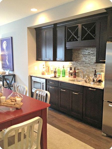 Kitchenette Cabinets by Basement Kitchenette Cabinets Gray Wall Diy