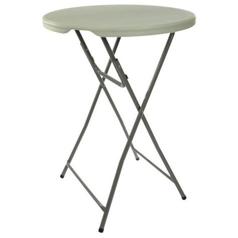 plastic folding cocktail table 32 quot wide x 43 quot high